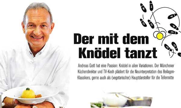 Pressse: Andreas Geitl in Chef Juli/August 2017