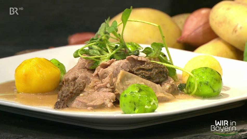 Rezept Andreas Geitl: Filetspitzen mit Morcheln und Kartoffelschusser
