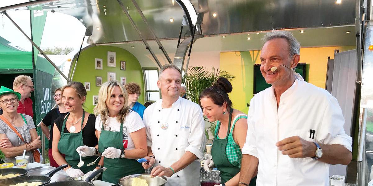BR Radltour 2018: Andreas-Geitl mit einem Lächeln